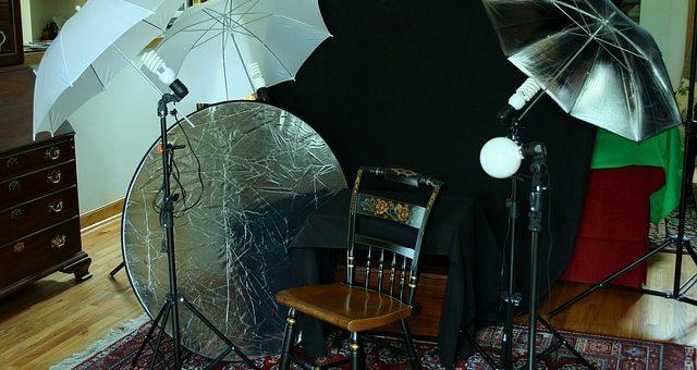 Sesja dla córeczki w studiu fotograficznym