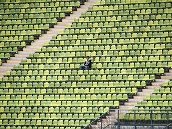 krzesełka na stadiony