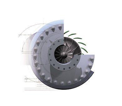 Dane techniczne sprężarki śrubowej