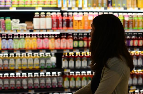 ekspozycja towaru w sklepie spożywczym
