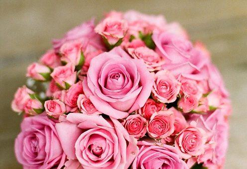 Piękne kwiaty na ślub