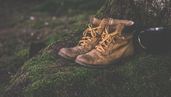 Wysokie buty górskie