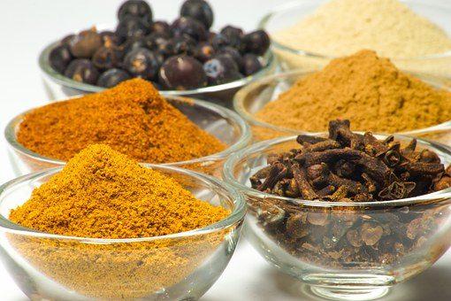 Zastosowanie pasty curry
