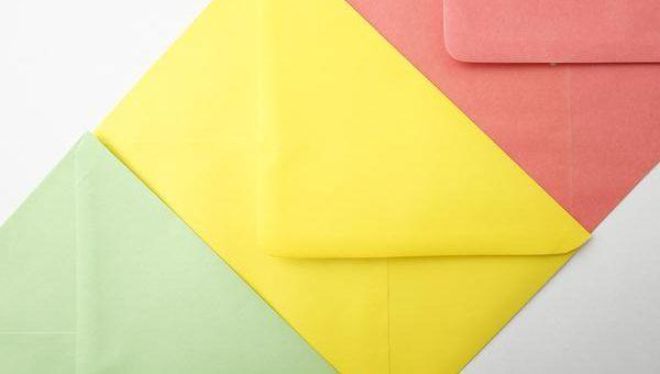 Różne formaty kopert